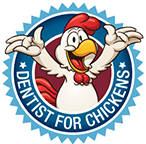 Dentist for Chickens logo